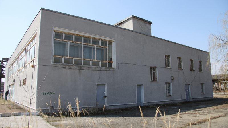 Building for production, warehouse on the street.  Zavodsʹka